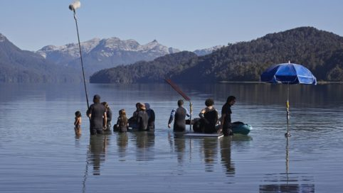 La idea de un lago Tournage 4